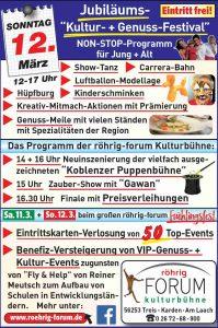 ErlebnisZeit - Kistenklettern beim Frühlingsfest Röhrig Forum Treis Karden